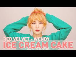 tutorial red velvet ice cream cake