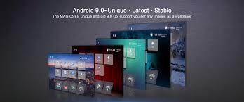 VIGICA & Magicsee: Magicsee N5 NOVA 4GB RAM 64GB ROM 4K TV Box with Voice  Remote Air Mouse