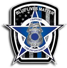 Police Lives Matter Blue Stripe Flag Truck Laptop Vinyl Decal Sticker Stickers For Sale Online Ebay