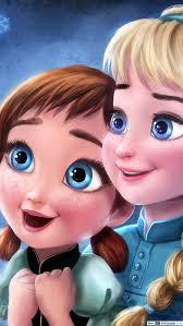 frozen elsa and anna s childhood hd