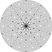 Geometrip Com Gratis Geometrische Kleurplaat Designs Cirkels