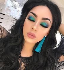 ocean mermaid makeup 𝐼𝑔
