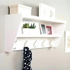wall coat hooks with shelf smaza me
