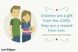 bible verses about babies for new parents