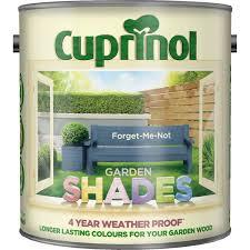 Cuprinol 2 5l Garden Shades Paint Forget Me Not Leekes