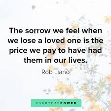 quotes about losing a loved one coping the loss of someone