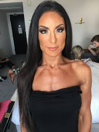 fitness show makeup hair two s