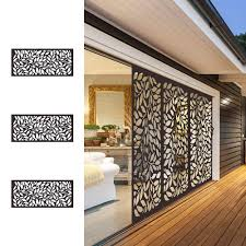 Metal Privacy Screen Laser Cut Decorative Steel Privacy Panel Metal Fencing 48x24inch 1piece Window Screens Aliexpress
