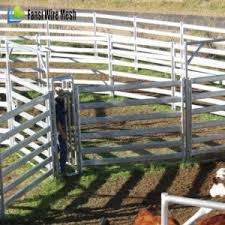 China Galvanized Livestock Metal Cattle Fence Panels China Cattle Fence Panels Metal Cattle Fence Panels