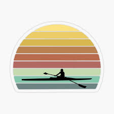 Rowing Stickers Redbubble