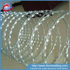 Factory Price Boundary Security System Razor Wire Fence Sharp Razor Barbed Wire Fence On Wall Buy Boundary Security System Razor Wire Fence Sharp Razor Barbed Wire Fence On Wall Boundary Wall Fence Product On