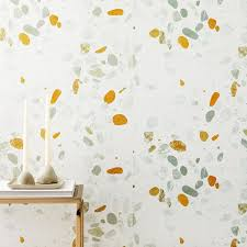 digital terrazzo wallpaper west elm