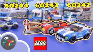 LEGO City cảnh sát truy bắt tội phạm 60242, 60243, 60244 ...