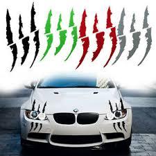 Universal Auto Car Headlight Monster Claw Scratch Stripe Decor Sticker Decal Ebay