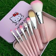 o kitty make up cosmetic brush kit