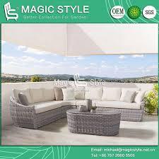 china rattan wicker sofa set with