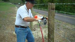 Paslode Wire Fence Stapler Mp4 Youtube