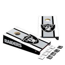 Nfl Las Vegas Raiders Desktop Cornhole Bag Toss Set Bed Bath Beyond