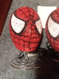 Marvel Spiderman Kids Bedroom Table Lamp Night Light Spider Man Head Face For Sale Online