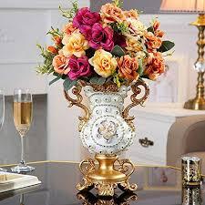 diamond large floor vase for dry flower