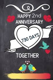happy 2nd anniversary 730 days together