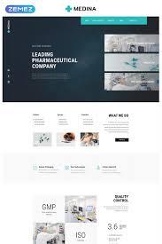 pharmaceutical company modern html