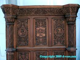 elizabethan fireplace surround