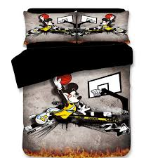 mickey mouse bedding set twin size bed