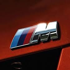 Badge Tri Color For All Bmw M Rear Emblem Car Decal Logo Sticker All Accessories For Cars Carnecessaries Com