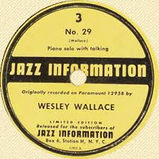 Illustrated Wesley Wallace discography