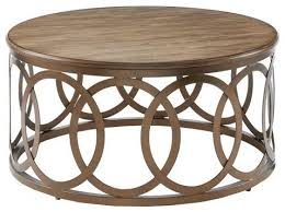 madison park fraser round coffee table