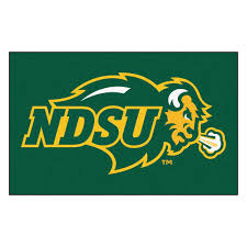 Fanmats Ncaa North Dakota State University Green 5 Ft X 8 Ft Area Rug 145 The Home Depot
