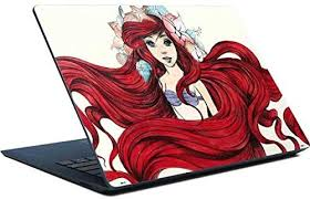 Amazon Com Skinit Decal Laptop Skin For Surface Laptop Officially Licensed Disney Ariel Illustration Design Electronics