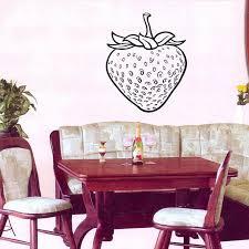 Best Offers Strawberry Fruits Wall Decals Kitchen Cafe Home Interior Design Wall Vinyl Decal Sticker Art