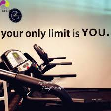 Diy Home Decor Your Only Limit Is You Gym Quote Wall Sticker Fitness Workout Office Motivation Inspiration Wall Car Window Decal Wish