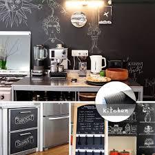 Reusable Extra Large Chalkboard Decal Roll Chalkboard Stickers By Idealseal Black Blackboard Chalkboard Wall Sticker Wallpaper 20 Feet X 7 Inches Plus Free Liquid Chalk Marker With Each Roll Walmart Com Walmart Com