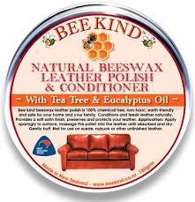 beeswax leather polish deep condition