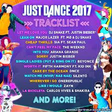 just dance 2017 ubisoft nintendo wii