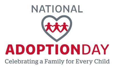 Image result for National Adoption Day 2019""