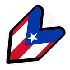 Jdm Puerto Rico Rican Flag Car Decal Badge Susan N Underwoodeh
