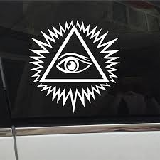 Eye Of Providence All Seeing Eye Of God Car Decal Sticker Vinyl Mason Symbol Die Cut No Background Pick Color And Size Buy At The Price Of 2 20 In Aliexpress Com Imall Com