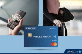 hdfc bank millennia credit card review