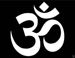 Om Symbol Vinyl Window Decal 4x4 Aum Buddhism Hindu God Yoga Meditation Peace For Sale Online Ebay