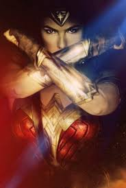 wonder woman crossed arms wallpaper