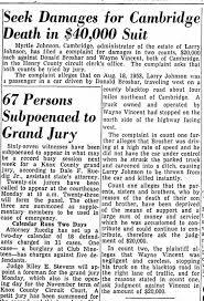 Myrtle Robinson Vincent Johnson sues over son's death - Newspapers.com
