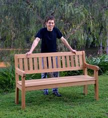 making an oak garden bench australian