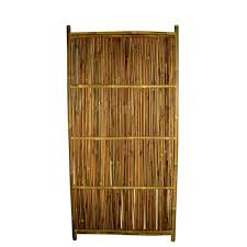 Master Garden Products 36 In W X 72 In H Bamboo Garden Fence Panel Bfs 17 The Home Depot