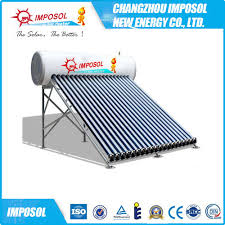 china heat pipe solar hot water heater
