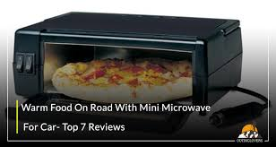 warm food on road with mini microwave