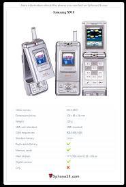 Samsung X910 SGH-X910 Full phone ...